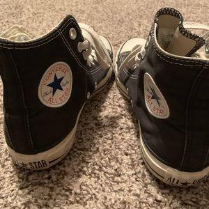 Black All Star Converse High Top